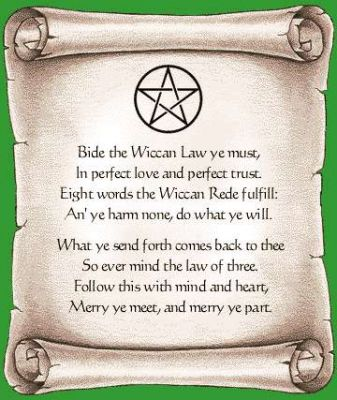 Wiccan Law